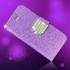 2014 New style various color luxury shiny powder rhinestone bling cell phone case for iphone 6