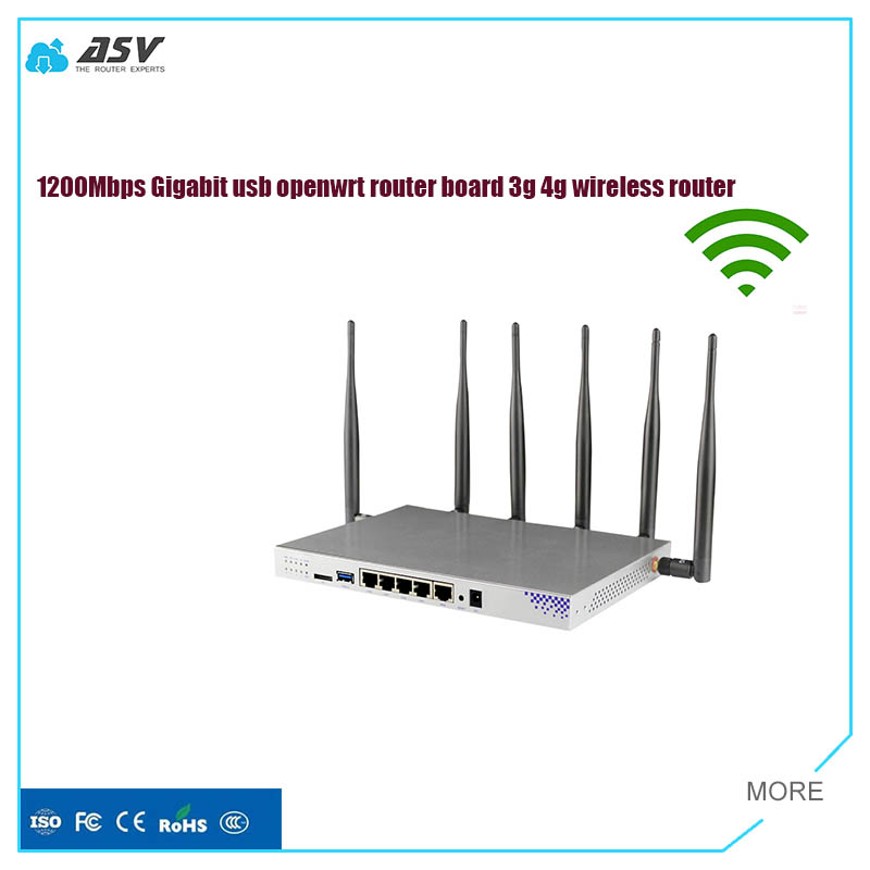 ASV3010 openwrt router gigabit wifi router support 3g 4g