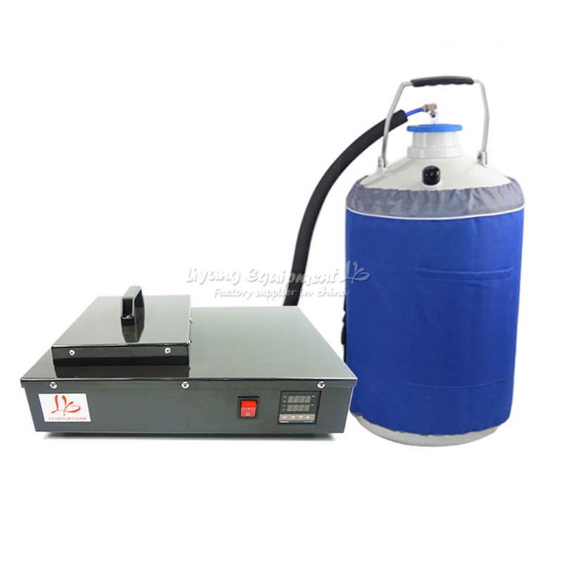 FS-06 liquid nitrogen freezing lcd separator separating machine