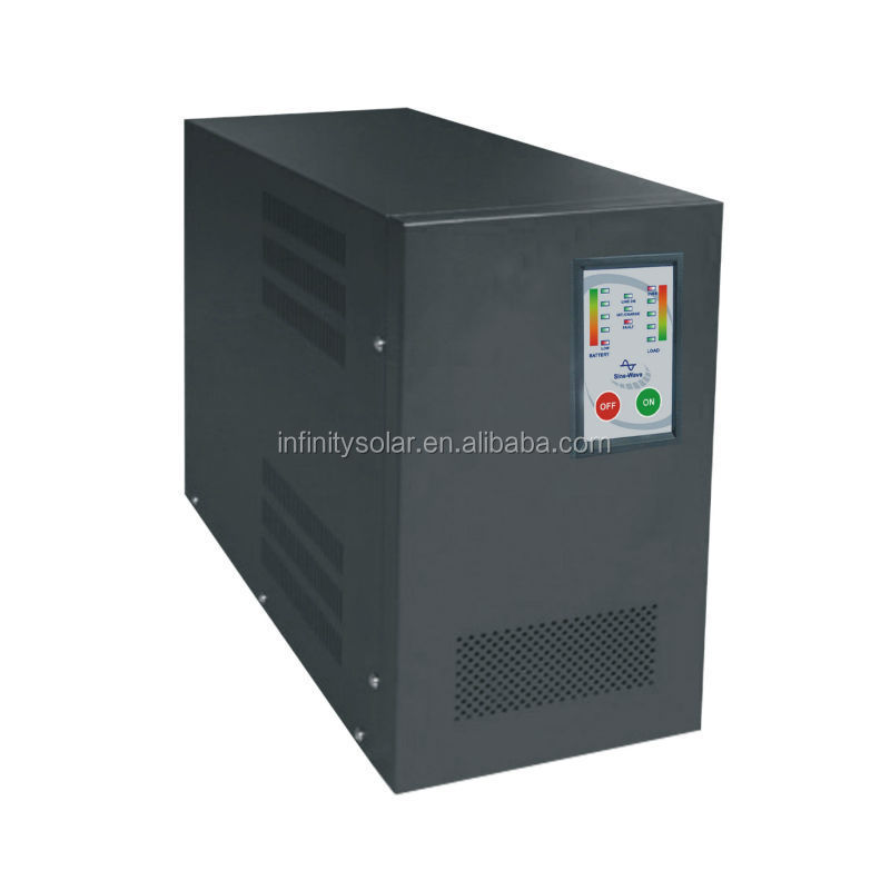 New Design Inverter 2000 watt Converts DC 48V Power to AC110V or AC220V Power with High/Low Voltage Protection