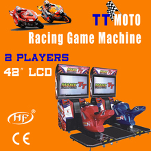 2013 hot sales simulation speed/ racing/car game machine TT moto