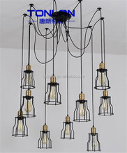 Bottom price Fast Delivery laser cut metal pendant light
