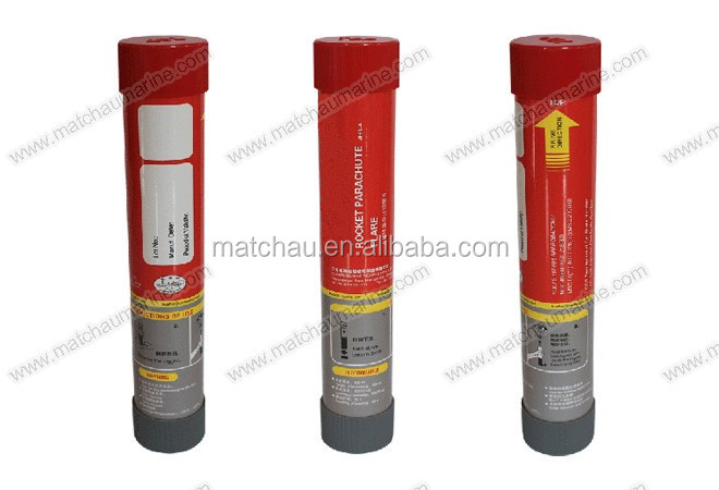 EC Certificated Marine Rocket Parachute Flare Signal