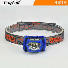 comfortable wearing lightweight USB rechargeable led mining headlamp