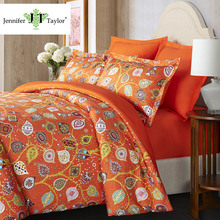 Factory direct sell pure cotton bedding set, home hotel pillow case sheet quilt bed cover 4 pieces bedding set