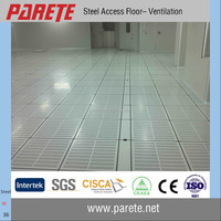 HPL finish steel ventilation raised access floor