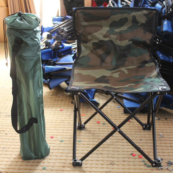 OEM folding camping armless chair