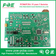 Green solder mask 2 layer pcb assembly pcba prototype