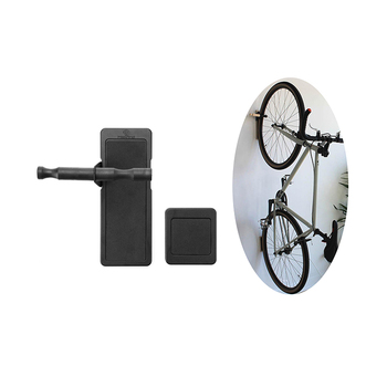 Home use plastic bike holder for bicycle storage