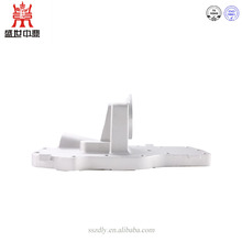 China factory customized slivery aluminum die casting for auto engine base