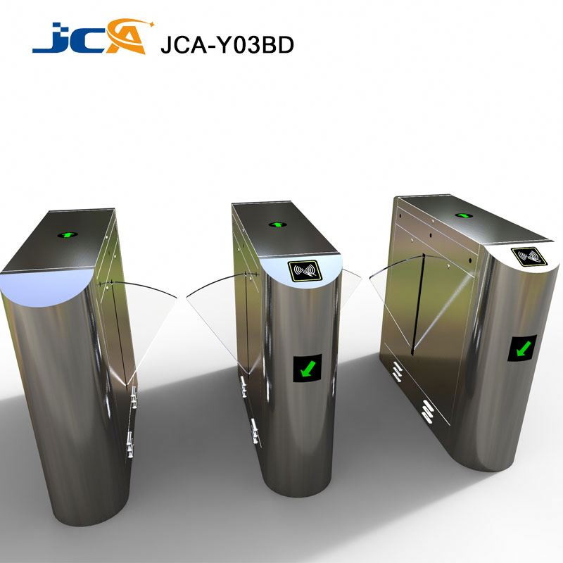 Automatic Flap Barrier Gate Rfid Card Access Control Systems