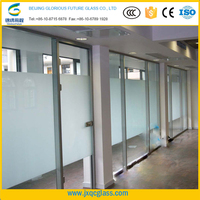 Factory directly sale 12mm toughened glass price for facade, door