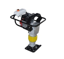 gasoline construction tamping rammer machine