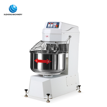 electric continuous dough mixer kneader 25kg cookie dough mixer machine