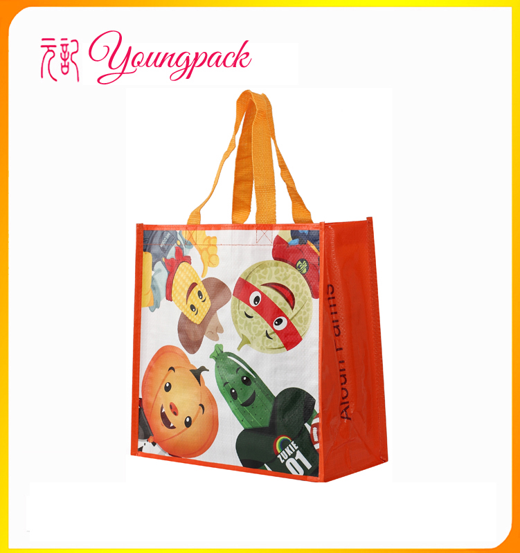 Customize High Quality Printed PP Woven Shopping Bags