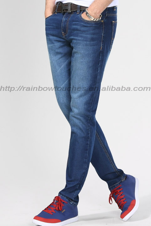 Wholesale china high quality casual man brand rock jeans