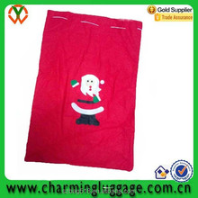 promotional christmas gift candy bag/custom velvet drawstring pouch bag wholesale