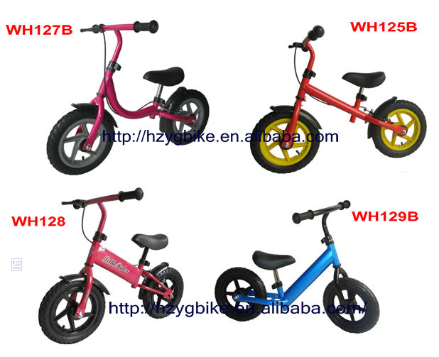 2017 New Product Cool 10inch Balance bikes For Boys And Girls