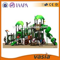 Updat Best Quality with Sailing Roofs, Spiral Slides, Training Climbings Commercial Equipment Children outdoor playground