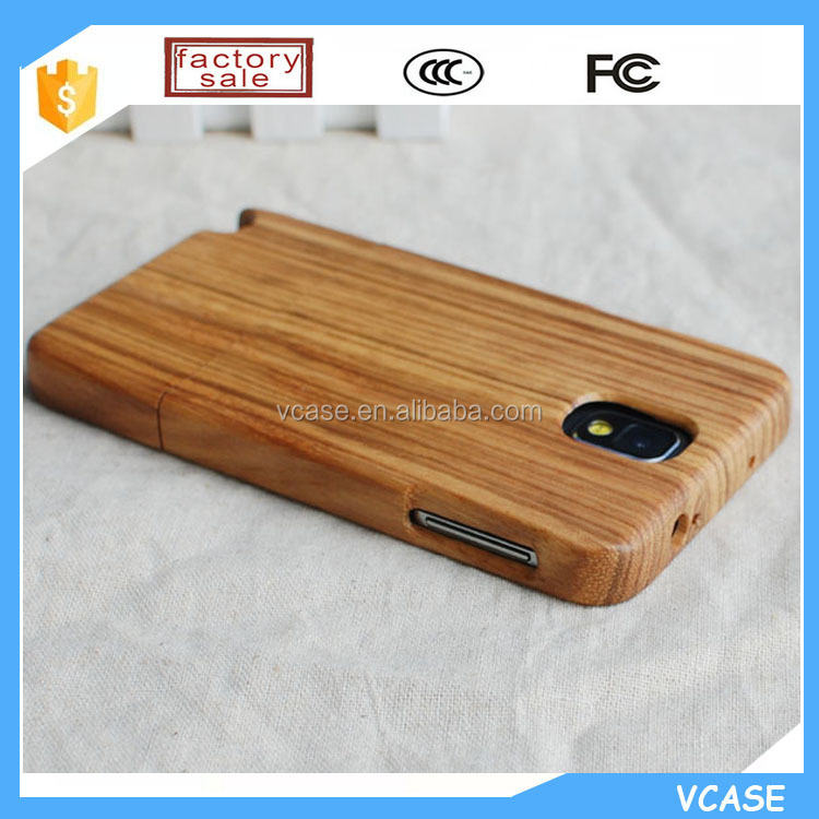 VCASE Wood Phone Cover Case for Samsung Galaxy Note 3 NEO N750 N7505