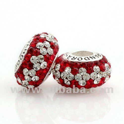925 stirling silver charm bead