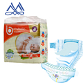2018 wholesale hot-selling super absorption disposable baby diaper with magic tape and breathable sheet