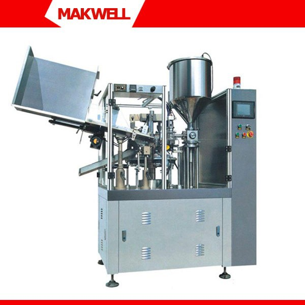 Cosmetic Cream Pack Machine,Cosmetic Cream Production Line,Hand Cream Tube Filling And Sealing Machine