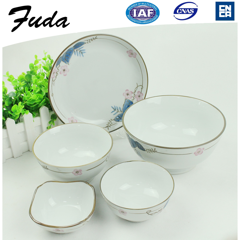 Unique Porcelain Dinnerware Set Supplier Porcelain Material Porcelain Bowls Dinner Set