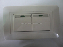 118z types of electrical wall switches Interruptor Double