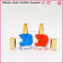 high flint glass apple shaped empty perfume bottles for sale