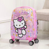 Girls hard case luggage trolley bags airport luggage trolley baggage