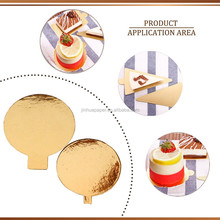 Gold Cardboard Cake Circle, Cake Bases Boards/gold base board