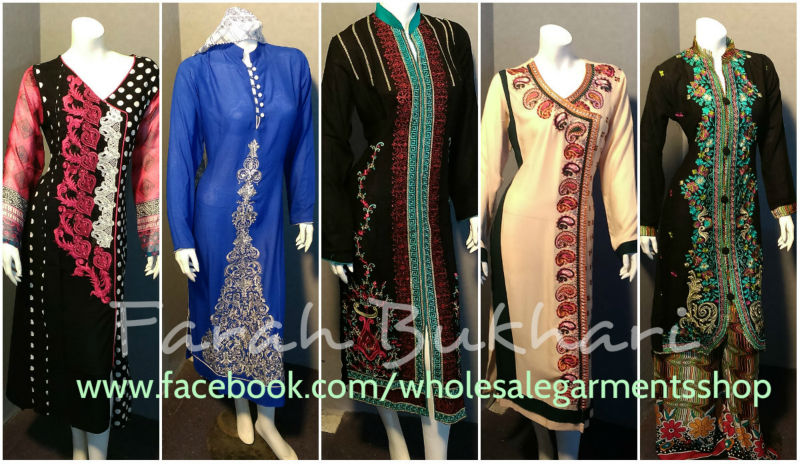 Ladies full Embroidered stitched Complete suits