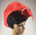 Hot sell 80s fancy dress up mohawk wig