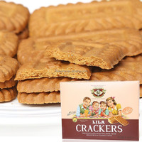 Lila cracker caramel cookies Topcook brand