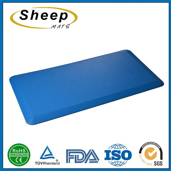 Simple fashion anti-fatigue memory durable non-toxic foam rubber floor mat roll