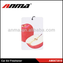 ANMA professional Paper car air freshener/hypoallergenic air freshener with logo customized printing