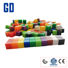 GD -building blocks toy/teaching aid, 1cm plastic counting cubes