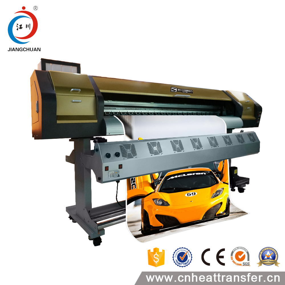 Large format dx5 double head tarpaulin printer continuous inkjet printer
