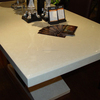 2015 Artifical mable/artificial stone worktop artificial marble kitchen table top