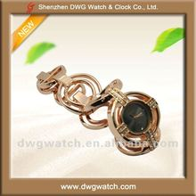 Fashion Ladies Quartz Jewelry Watch with Stones