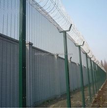 airport top of fence security fence@grid fence panels