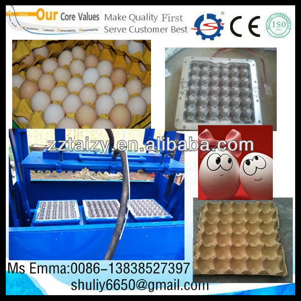 pulp moulding egg/fruit tray machine/High Capacity Recycling Waste Paper Egg Tray Machine With CE Approved 0086-13838527397