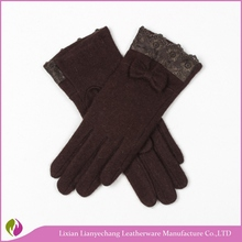 One size fits all women sex mobile phone touch screen gloves warm wool gloves