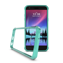 Hot Sale In Stock TPU Bumper +PC Board Hybrid / Combo Cover Cell Phone Drop Resistance Back Case For LG LV7
