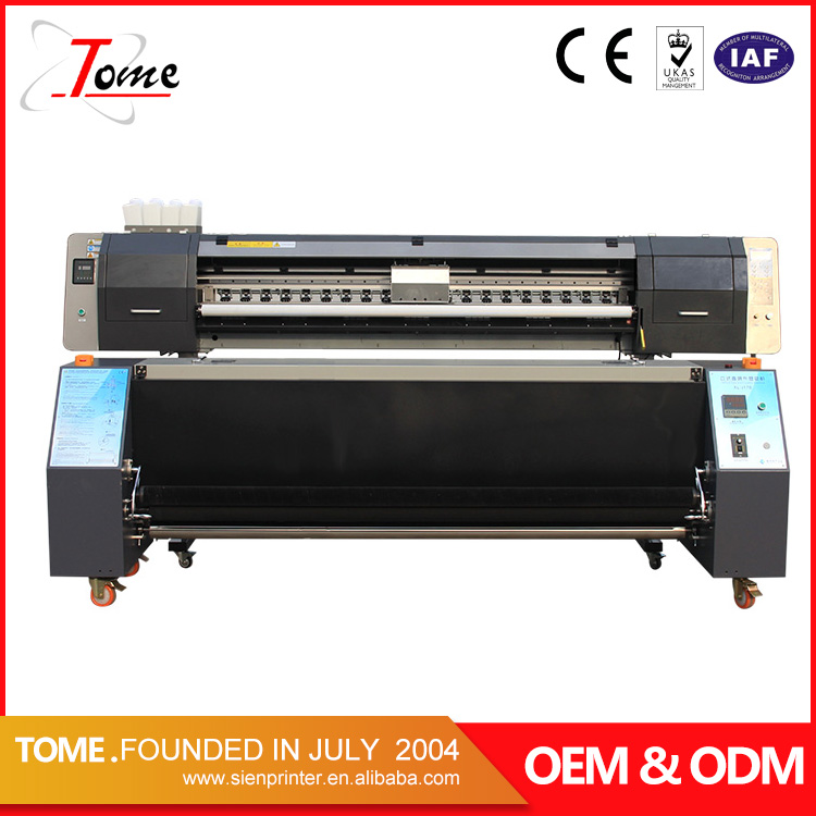 1.8m direct to graphic fabric large format printers guangzhou / best sublimation printer