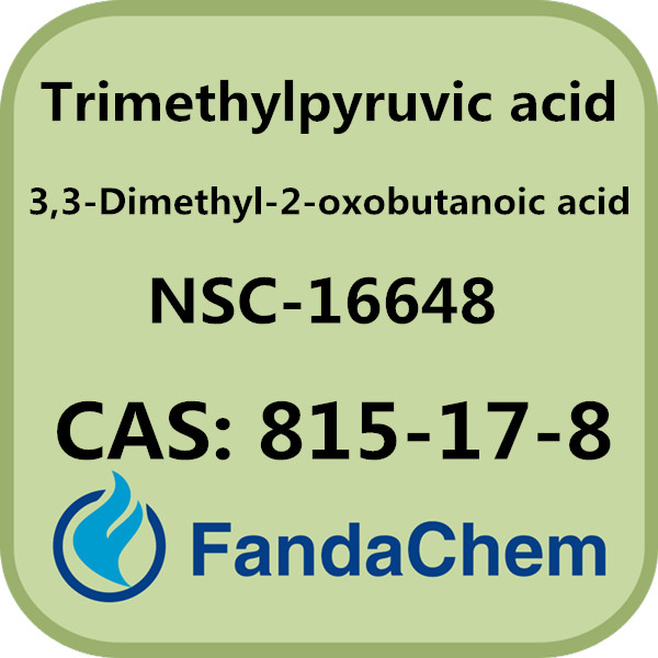 CAS NO.: 815-17-8 Trimethylpyruvic acid / 3,3-Dimethyl-2-oxobutanoic acid / NSC-16648