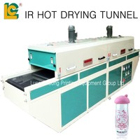 IR hot drying tunnel SD500 for bottle,pen,mug,mouse,plastic cup,paper