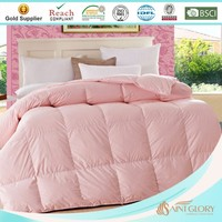 polyester peach colored comforter set for wholesale
