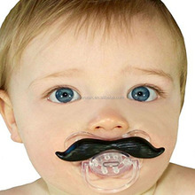 Custom Silicone Baby Pacifier Mold Mustache Pacifier For Baby